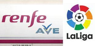 Post de Todo el fútbol en el AVE: Renfe ofrecerá en sus trenes todos los partidos de la Liga