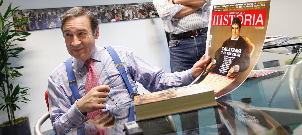 Foto: Pedro J. Ramírez, en su despacho. (Enrique Villarino)