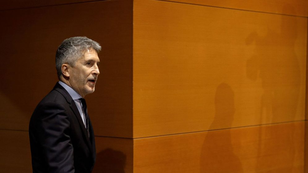 Foto: El ministro del Interior en funciones, Fernando Grande-Marlaska. (EFE)