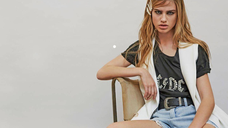 Nos encanta la camiseta de AC/DC con perlas. (Cortesía)