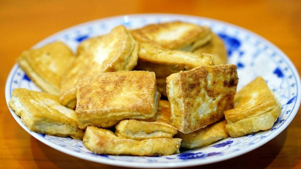 Foto: Un plato de tofu.