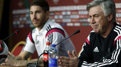 Ancelotti y el vigor de Ramos (juegue donde juegue) para soñar con la Liga