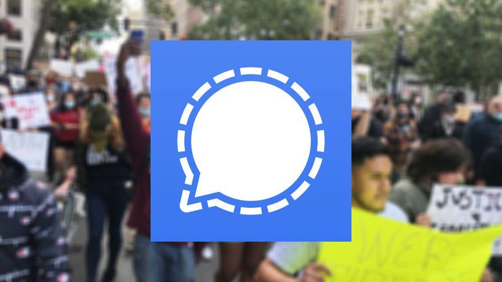 De WhatsApp de los 'indepes' a 'app' viral en las protestas de EEUU: por qué triunfa Signal