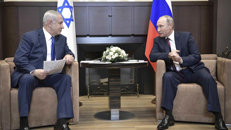 Netanyahu advierte a Putin que el fortalecimiento de Irán amenaza al mundo