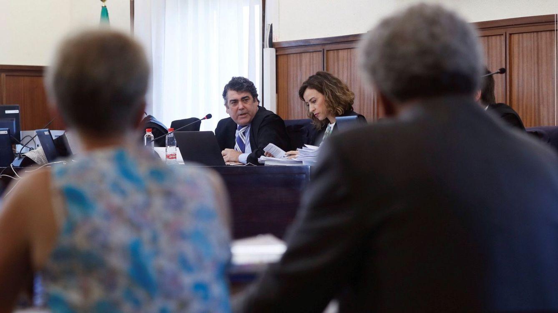 Foto: Imagen del juicio de la pieza política del caso ERE. (EFE)