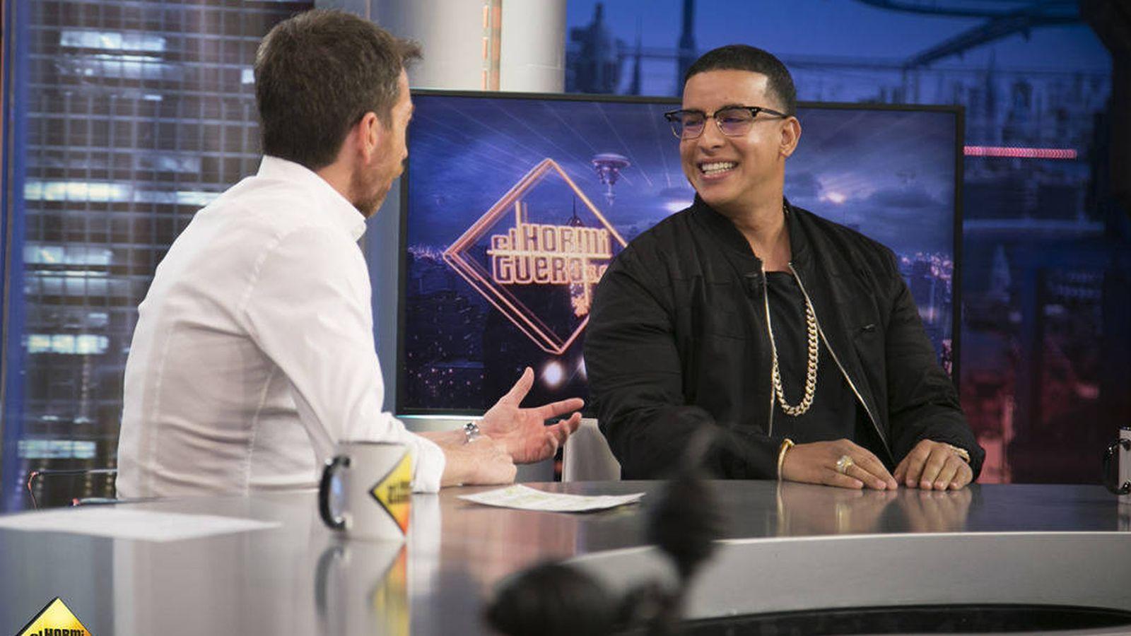 Foto: Daddy Yankee relata en 'El hormiguero' cómo un balazo truncó sus sueños.