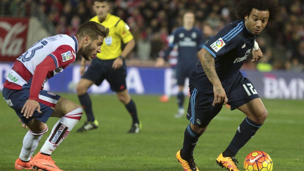 Marcelo sufre la misma lesión que Ramos y es seria duda para el derbi