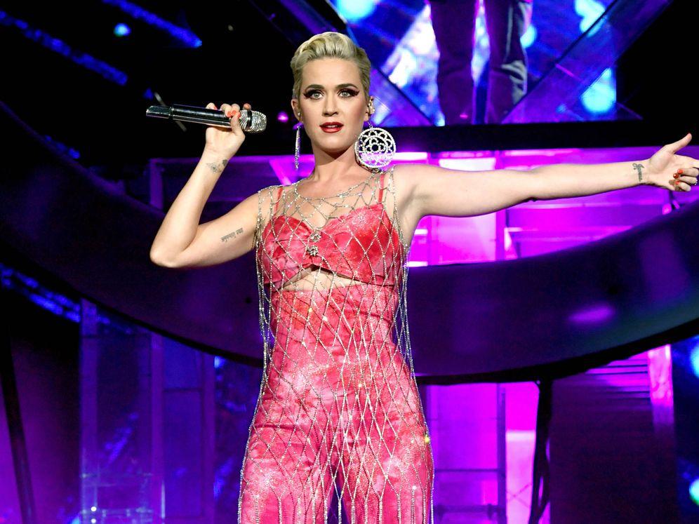 Foto: Katy Perry, este año en Coachella. (Getty)