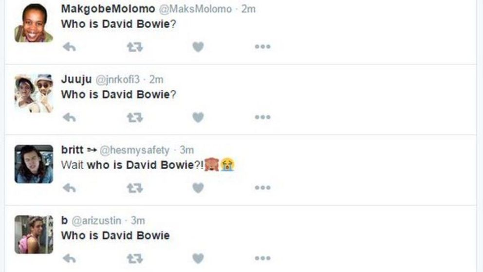 ¿Quién es David Bowie? La pregunta que está incendiando las redes sociales