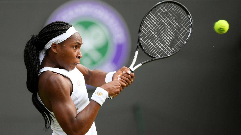 Así tumbó Cori Gauff (15 años) a Venus Williams en Wimbledon e hizo historia