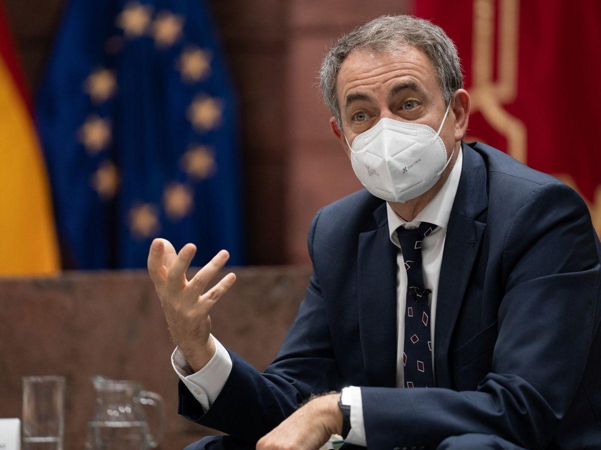 Foto: José Luis Rodríguez Zapatero el pasado 25 de febrero en Tenerife. (EFE)