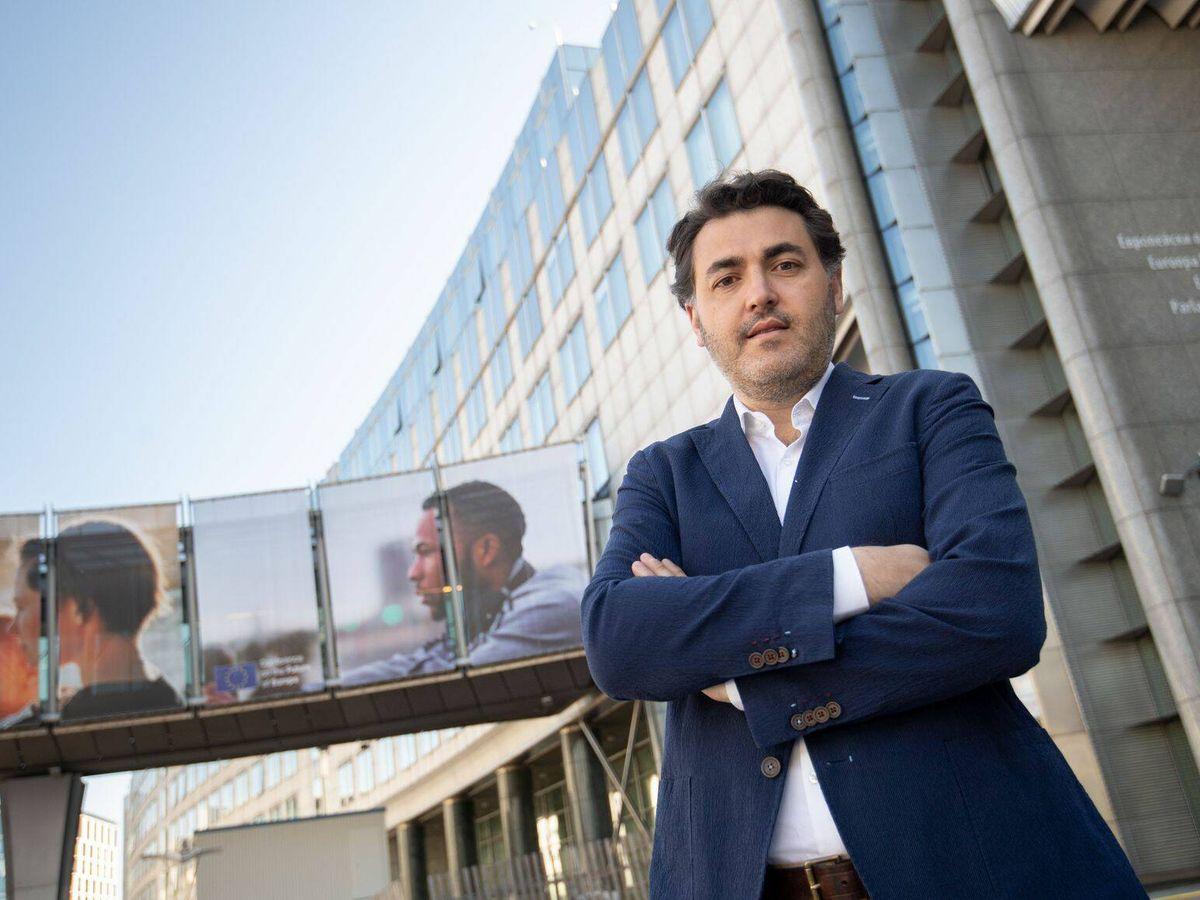 Foto: Jonás Fernández, eurodiputado español del PSOE.