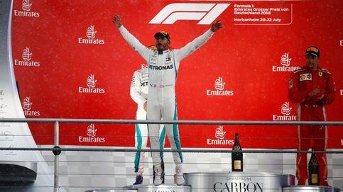 GP de Alemania de F1: la lluvia sonríe a Hamilton y 'mata' a Vettel; Alonso abandona