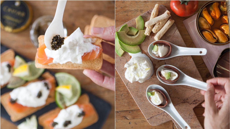 Propuestas de picoteo gourmet con productos de Delivinos. (Cortesía)