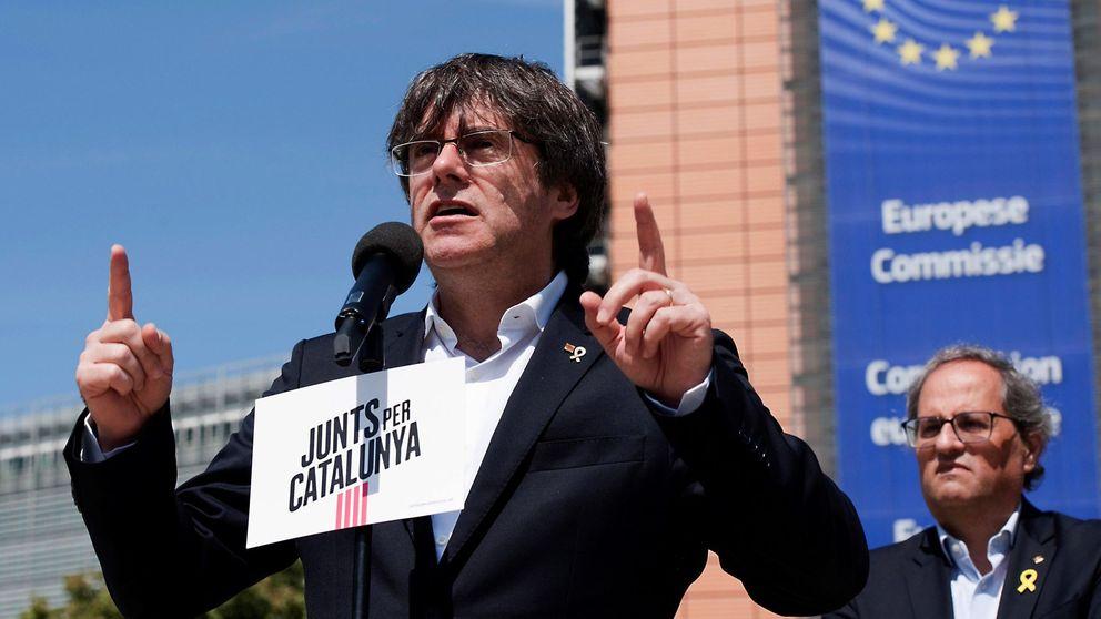 Puigdemont pide responder a la suspensión de los presos donde más daño hace