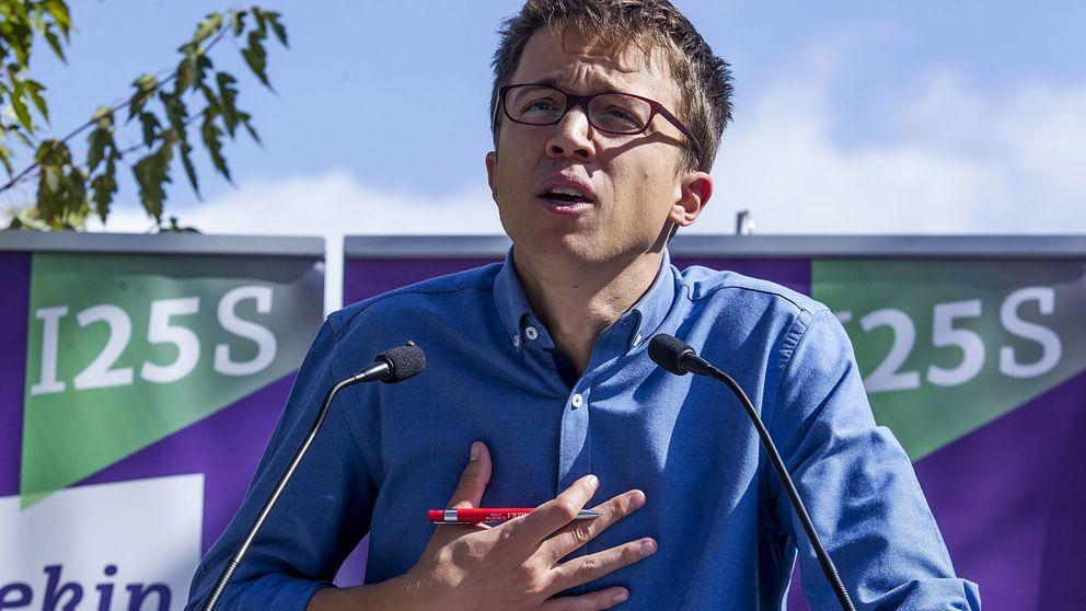 Errejón mantiene su pulso interno: No nos van a encasillar en el PSOE o el PCE