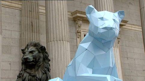 Aparece una leona en el Congreso