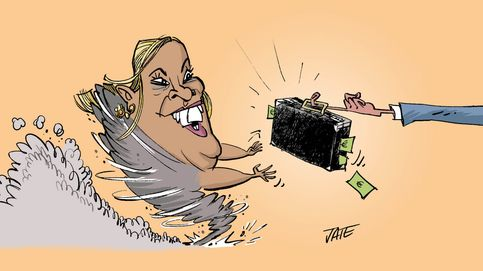 El huracán Carmen Borrego