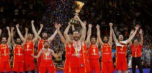 Post de El rey, cantantes, políticos, deportistas... La selección de baloncesto desata la locura