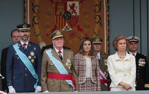 La Fiesta Nacional pone de relieve la realidad de la Familia Real