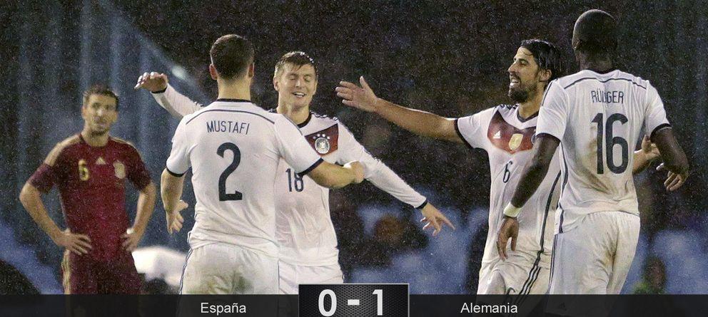 Foto: Casilla paga la novatada y Alemania gana sin querer
