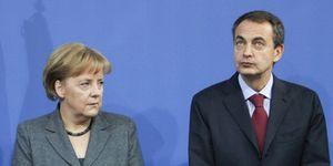 Foto: La reforma inyecta oxígeno a Zapatero a una semana de la visita de Merkel