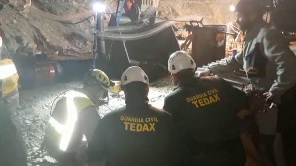 Una cuarta microvoladura extremadamente precisa retrasó el tramo final del rescate de Julen del pozo