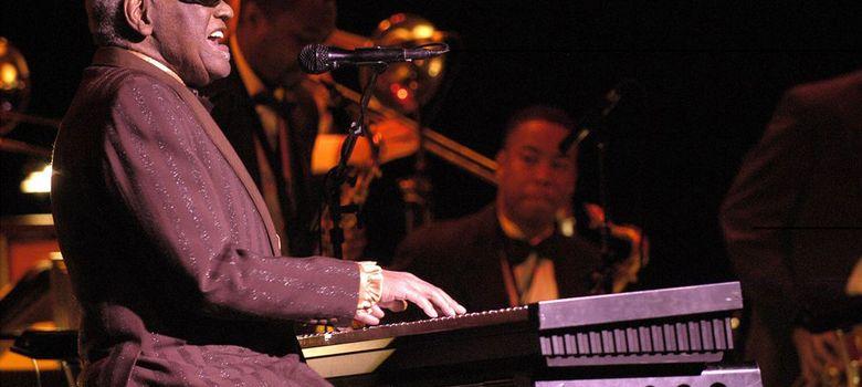 Foto: Último concierto de Ray Charles en el Festival Internacional de Jazz de Montreal. (Victor Diaz Lamich)