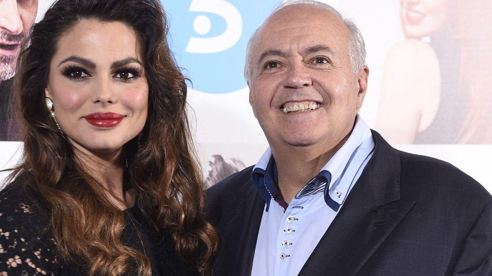 José Luis Moreno, un galán con Marisa Jara