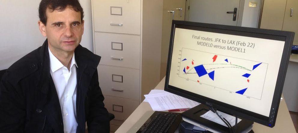 Foto: El español que creó un algoritmo capaz de ahorrar miles de millones a las aerolíneas