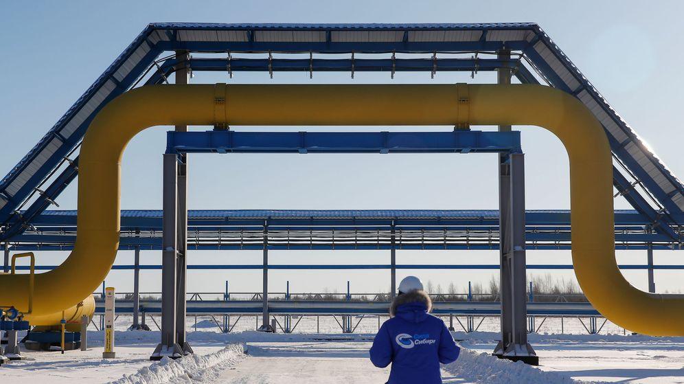 Foto: Imagen de una de las estructuras del Power od Fiberia. (Reuters)