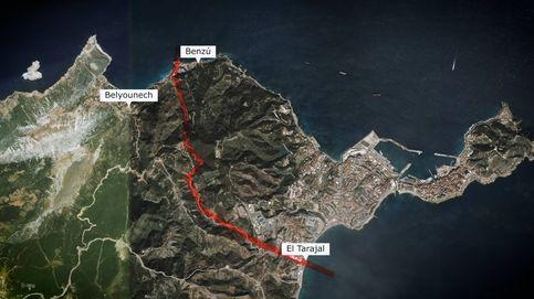 Los mapas de la crisis migratoria en Ceuta: por aquí han entrado miles de marroquíes.
