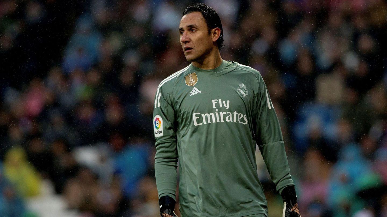 Keylor Navas, durante un partido del Real Madrid. (EFE)