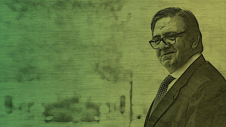 Foto: García Revenga en un fotomontaje realizado por Vanitatis