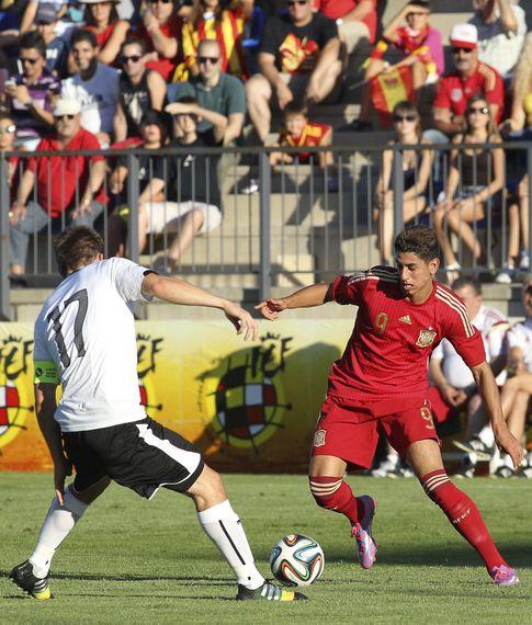 Foto: A España se le escapó el triunfo en el último suspiro (EFE)