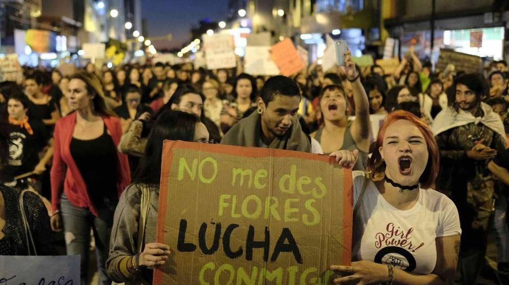 Foto: Manifestación del Día de la Mujer. (EFE)