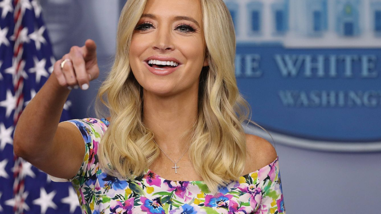 El armario de Kayleigh McEnany, la nueva secretaria de Prensa de Trump