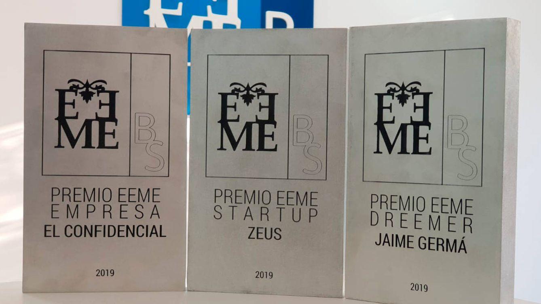 El Confidencial, galardonado con el Premio EEME Empresa por su innovación
