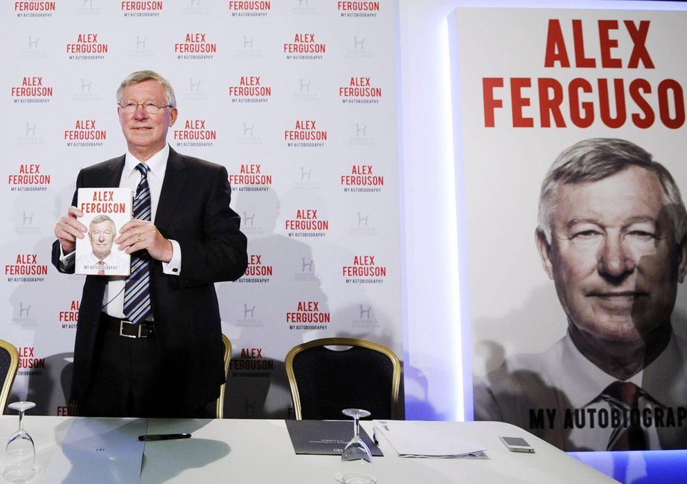 Foto: Alex Ferguson, en la presentación de su autobiografía.