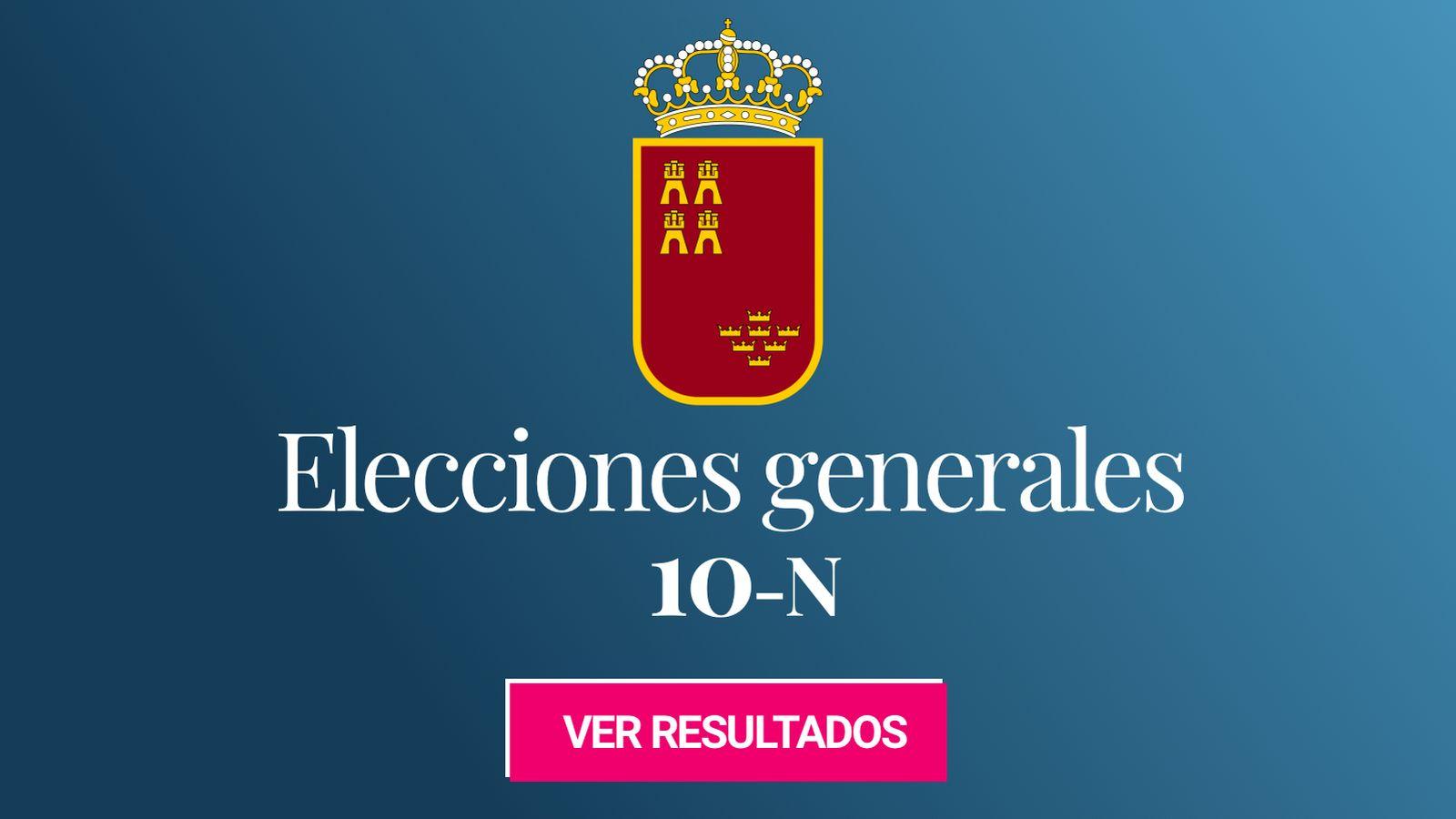 Foto: Elecciones generales 2019 en la provincia de Murcia. (C.C./Pedro A. Gracia Fajardo)