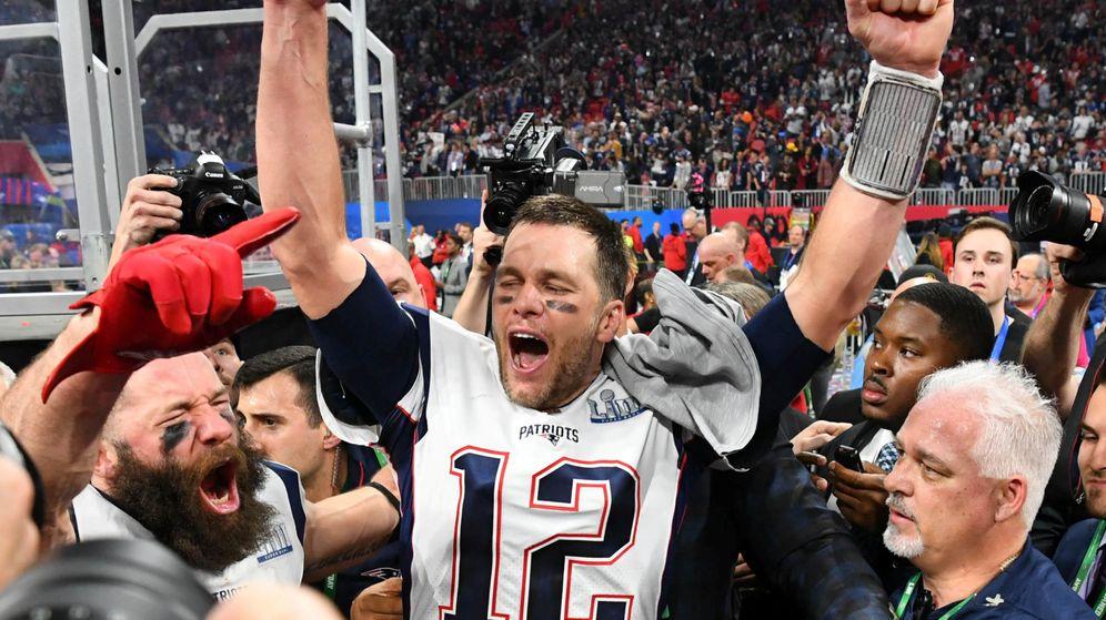 Foto: El 'quarterback' de los Patriots Tom Brady. (Reuters)