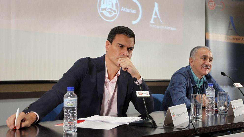 Sánchez urge a Podemos y C's a un Gobierno regeneracionista en una situación crítica