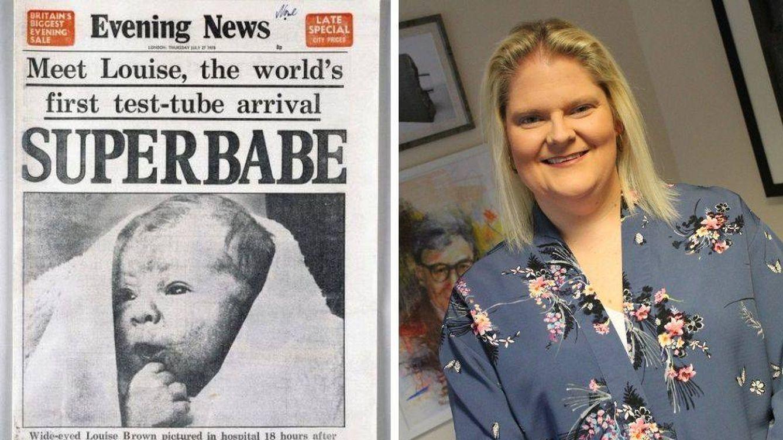 """Foto: Qué fue de Louise Joy Brown, 41 años de la primera """"bebé probeta"""""""