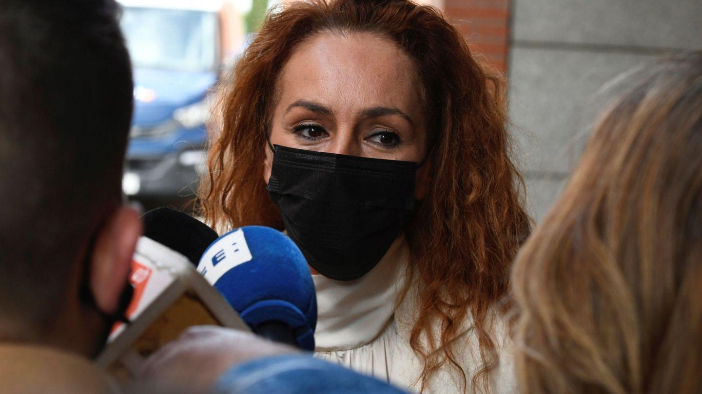 Rocío Carrasco a su salida de los juzgados de Alcobendas donde ha asistido para declarar por un delito de abandono del hogar. (EFE Víctor Lerena)