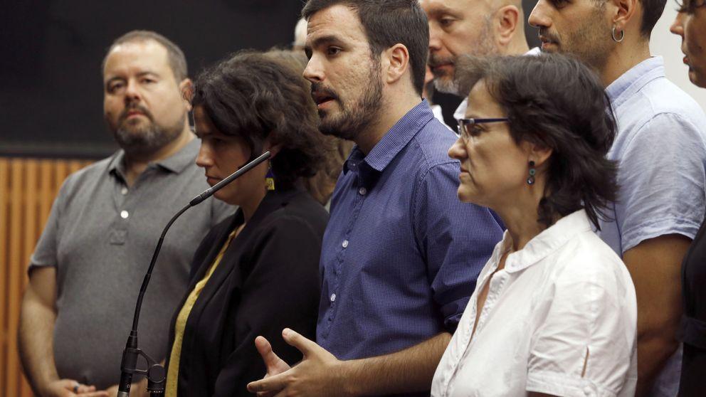 Garzón achaca el bajón de Unidos Podemos al proceso caótico de coalición y la campaña