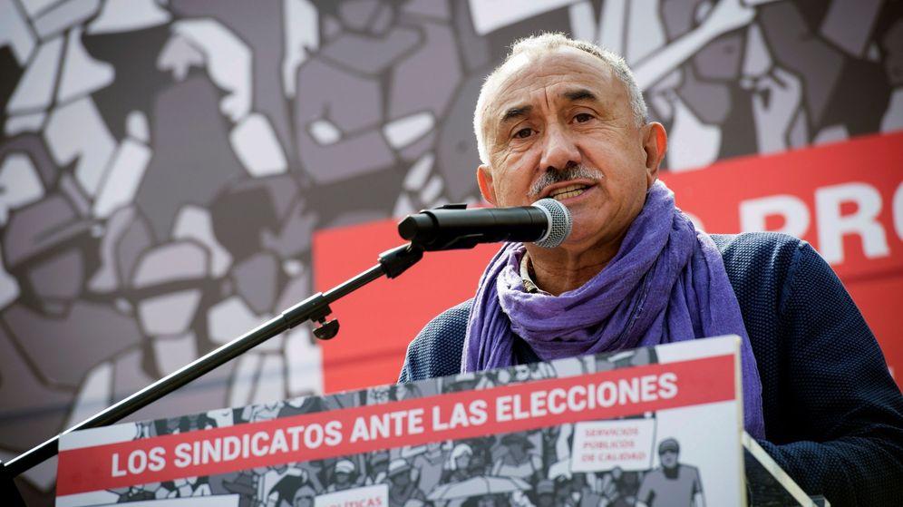 Foto: El secretario general de uGT, Pepe Álvarez (EFE/Luca Piergiovanni)