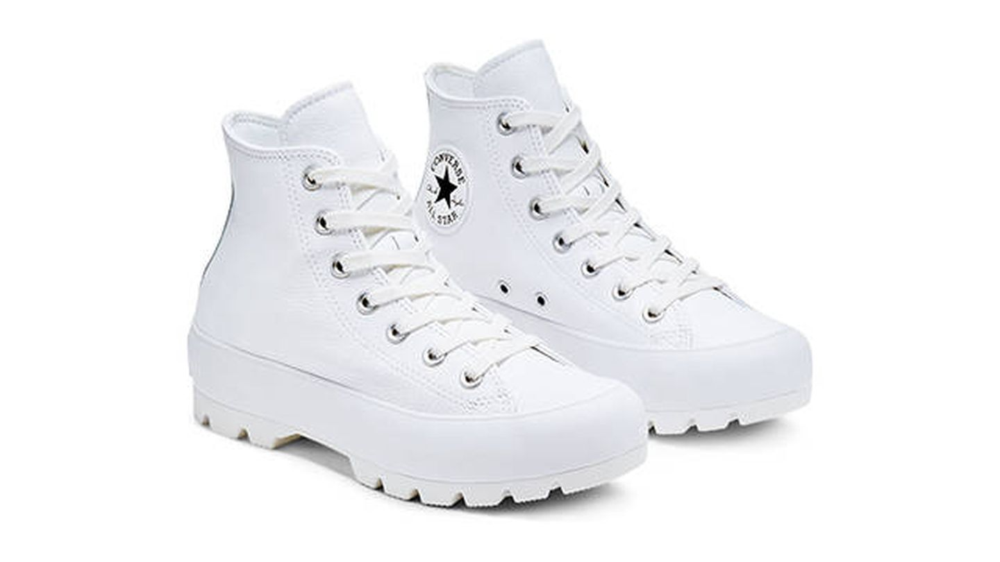 Converse Lugged Leather Chuck Taylor All Star High Top