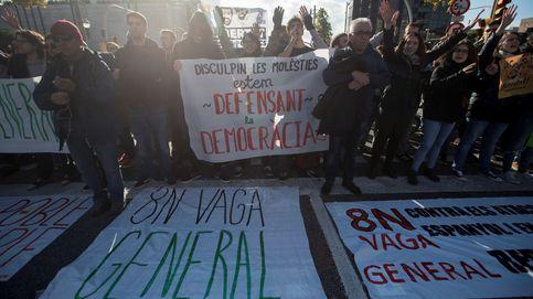 Vídeos de la huelga general del 8-N en Cataluña: piquetes, intervenciones...