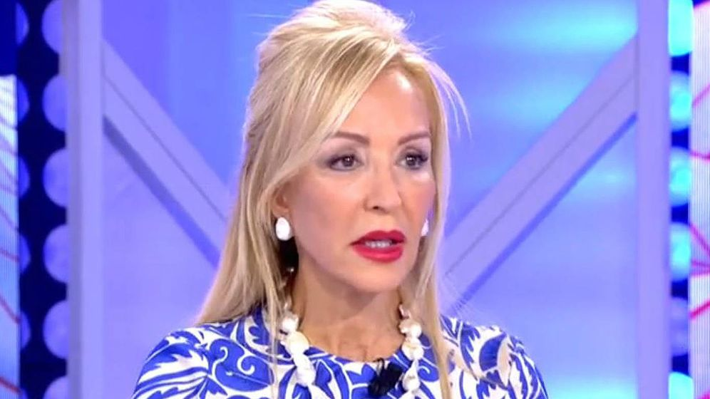 Foto: Carmen Lomana en 'Todo es mentira'. (Mediaset España)