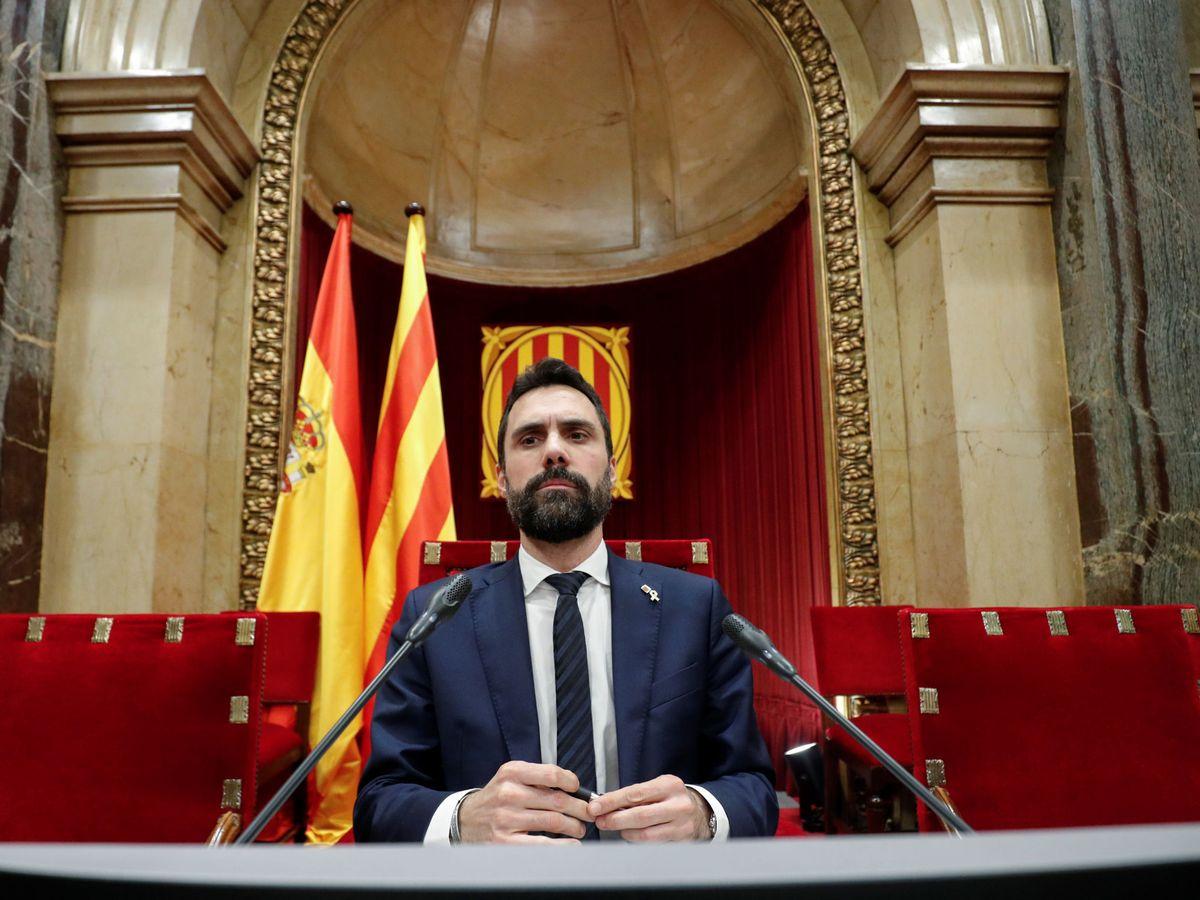 Foto: El presidente del Parlament de Cataluña, Roger Torrent. (Reuters)